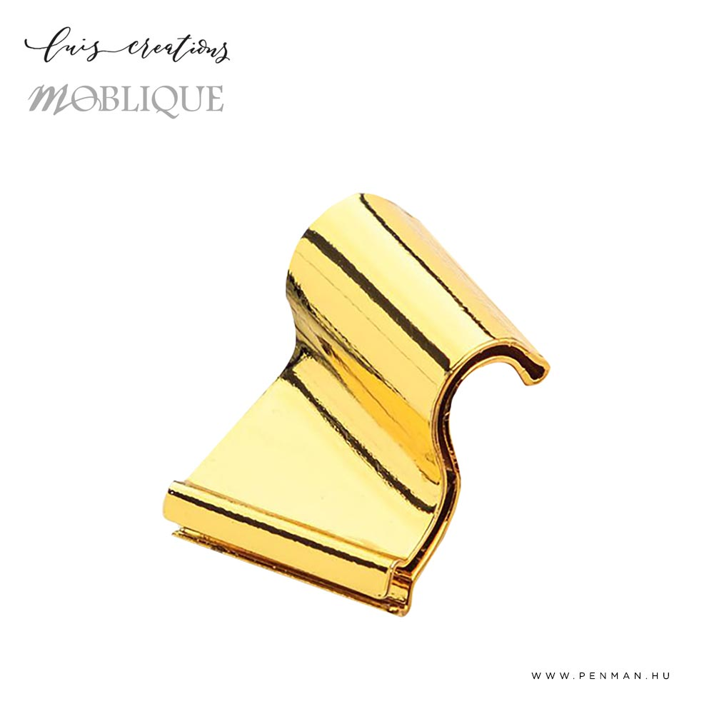 Moblique flange gold