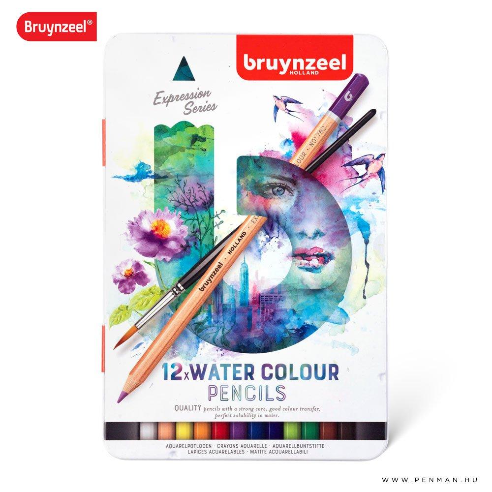bruynzeel 12db akvarell ceruza keszlet001