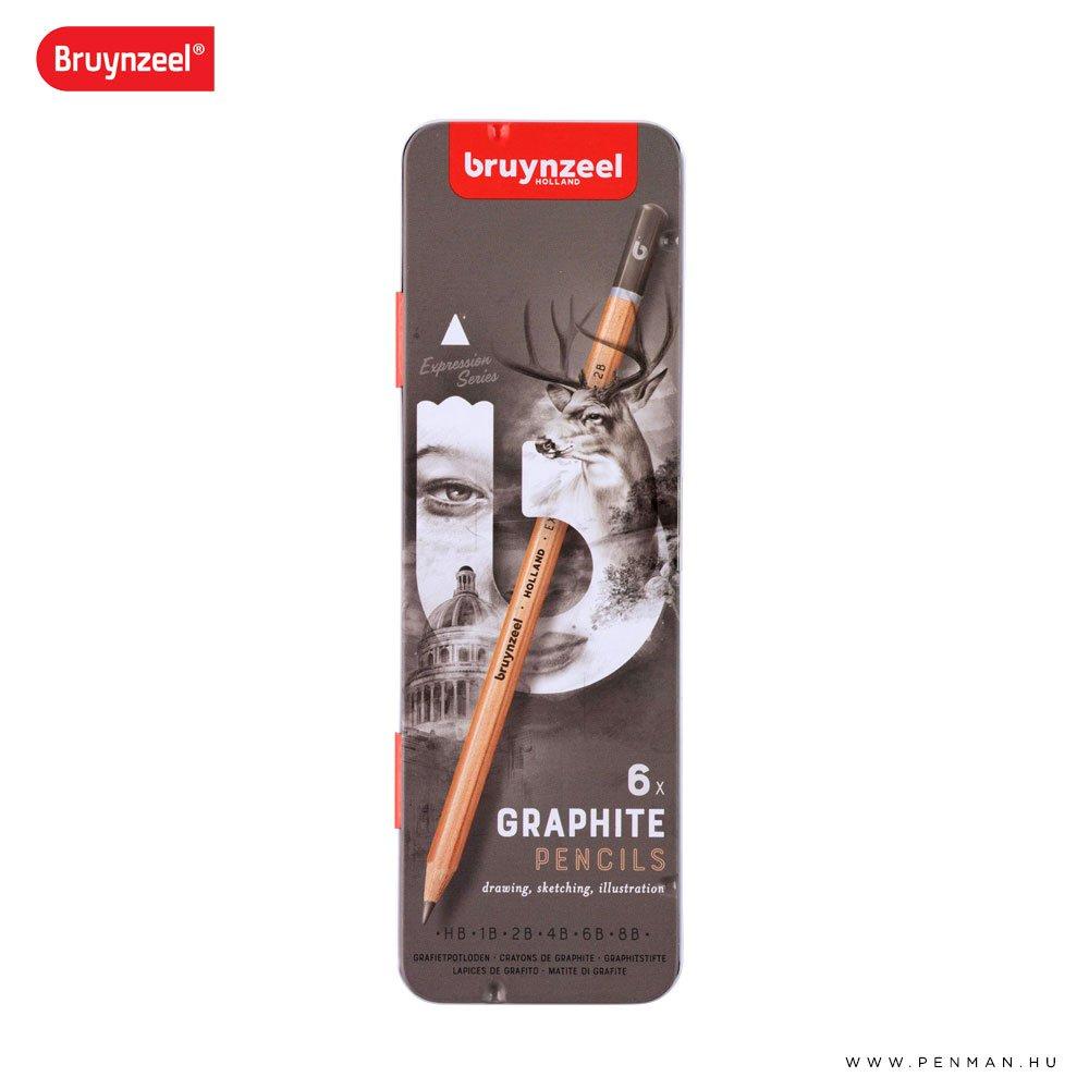 bruynzeel grafit ceruza 6 001