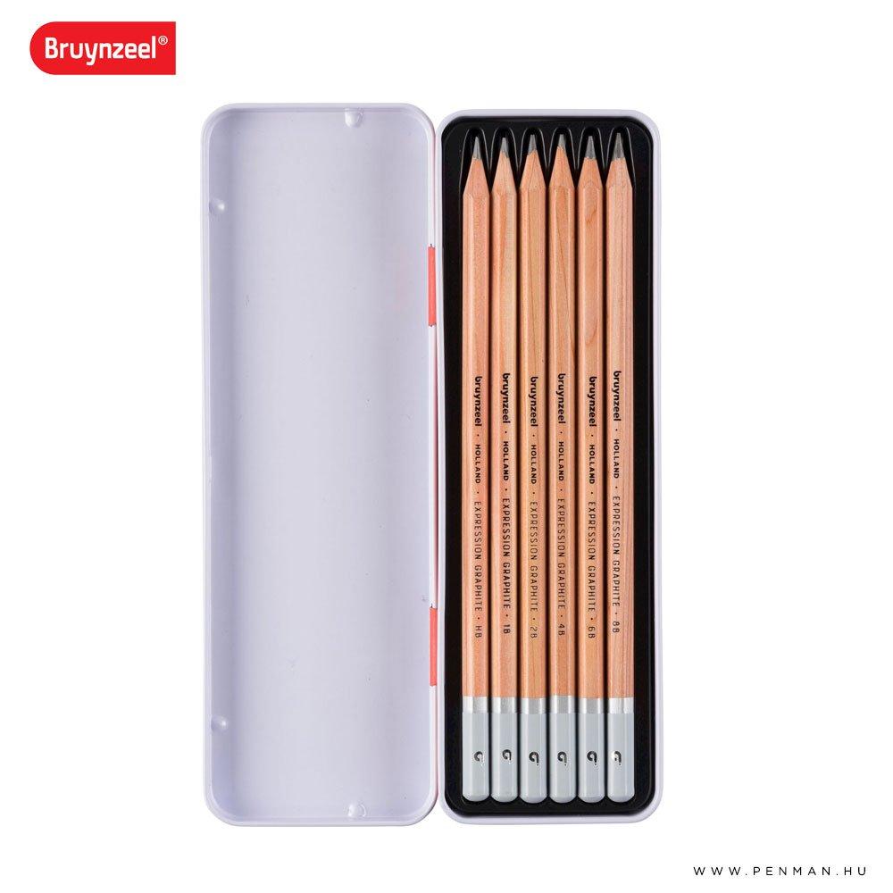 bruynzeel grafit ceruza 6 002