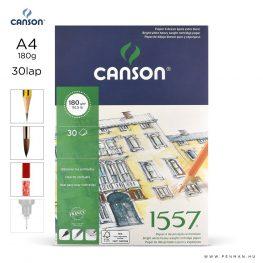 canson 1557 papir a4 30lap 180g rr finom