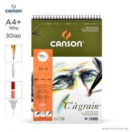 canson cagrain papir a4plus 30lap 180g rs finom
