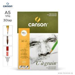 canson cagrain papir a5 30lap 125g rr finom