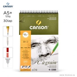 canson cagrain papir a5plus 30lap 125g rs finom