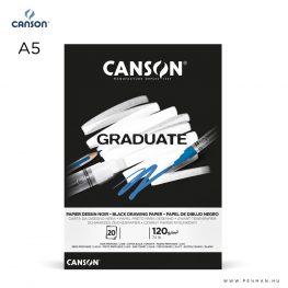 canson graduate black A5 001