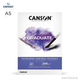 canson graduate mixed media A5 001