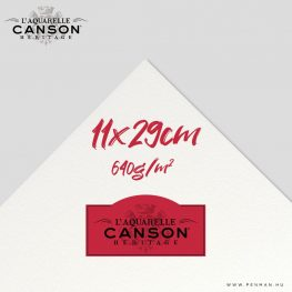 canson heritage hot press 640g 11 29cm lap