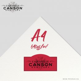 canson heritage hot press 640g a4 lap