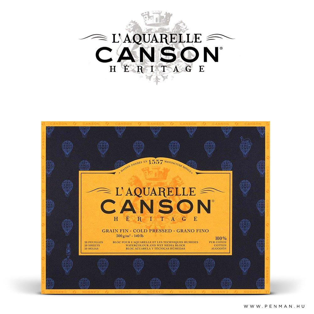 canson heritage papir 26x36 20lap 300g 4r finom