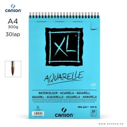 canson xl aquarelle papir a4 30lap 300g rs finom