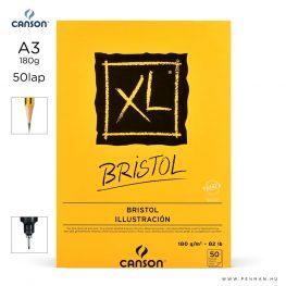 canson xl bristol papir a3 50lap 180g rr sima