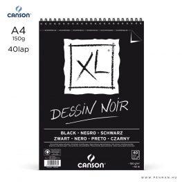 canson xl dessin noir a4 rs