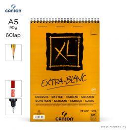 canson xl extra blanc papir a5 60lap 90g rs sima