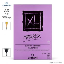 canson xl marker papir a3 100lap 70g rs sima
