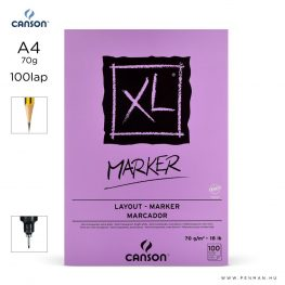 canson xl marker papir a4 100lap 70g rs sima