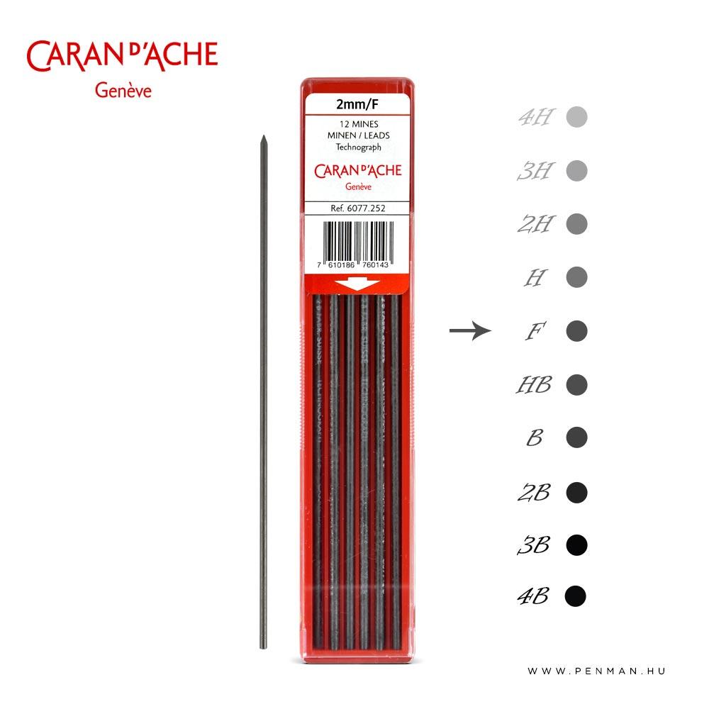 carandache 2mm lead f penman