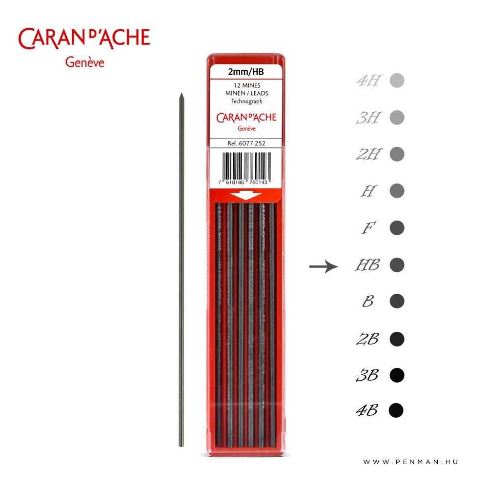 carandache 2mm lead hb penman