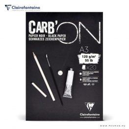 clairefontaine black paper A3 rr penman