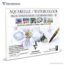 clairefontaine watercolour learning pad no1 penman