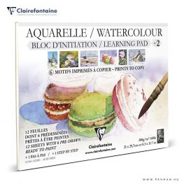 clairefontaine watercolour learning pad no2 penman