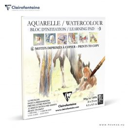 clairefontaine watercolour learning pad no3 penman