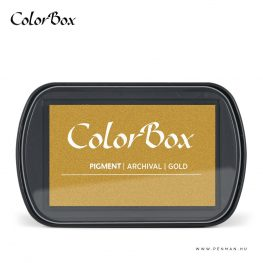 colorbox inkpad gold