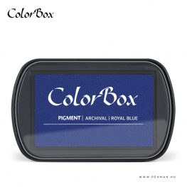 colorbox inkpad royal blue