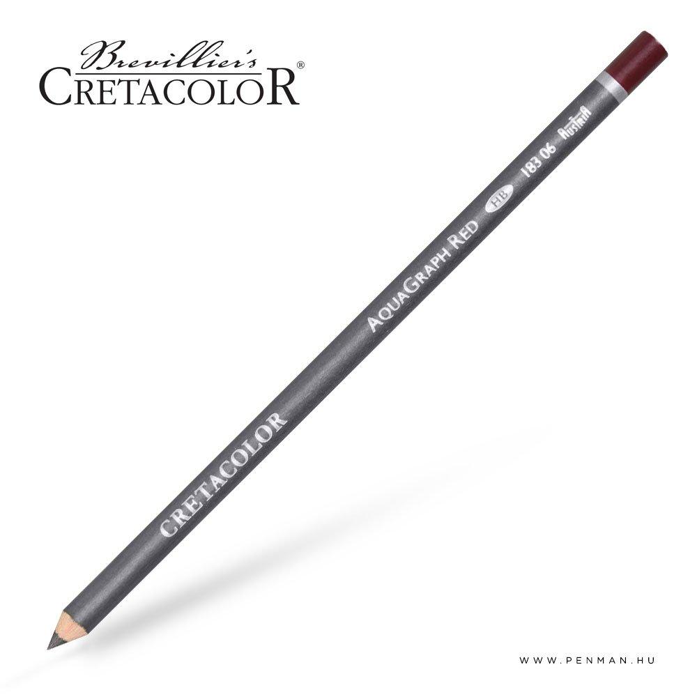 cretacolor aqua graph ceruza piros