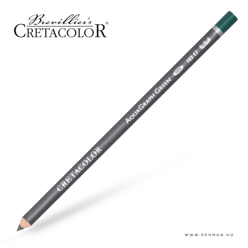 cretacolor aqua graph ceruza zold