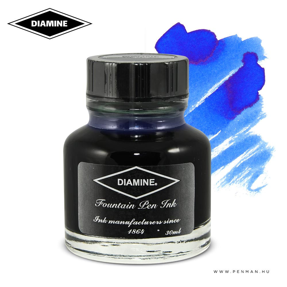 diamine tinta royal blue 30ml 001