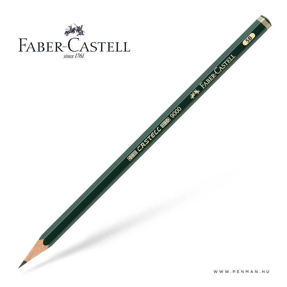 faber castell pencil 9000 5B penman