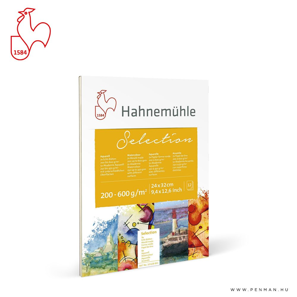hahnemuhle akvarell valogatas tomb 17x24 rr