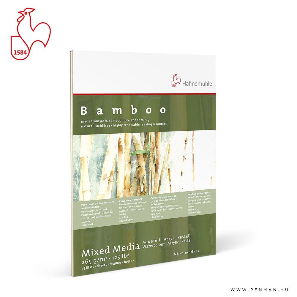 hahnemuhle bamboo bambuszkeverek tomb 265g 24x32 rr
