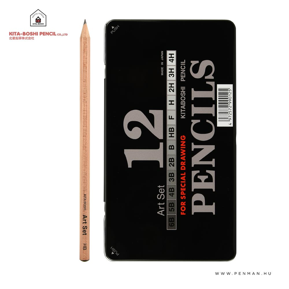 kita boshi 12db ceruza keszlet art set 001