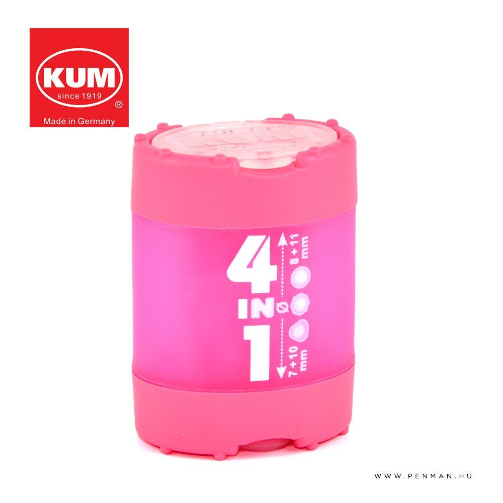 kum 4in1 hegyezo pink penman