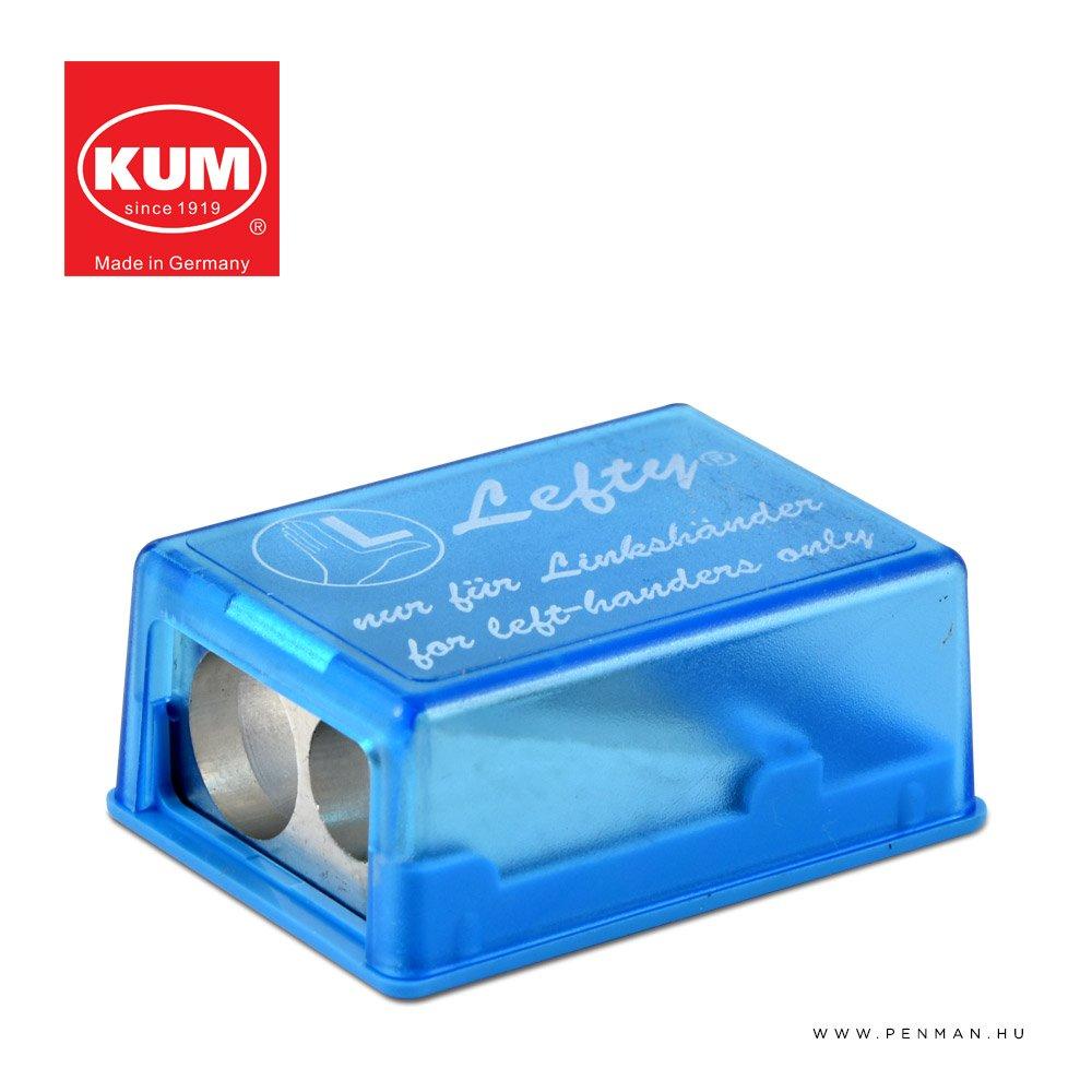 kum lefty 2 in 1M2 hegyezo blue penman