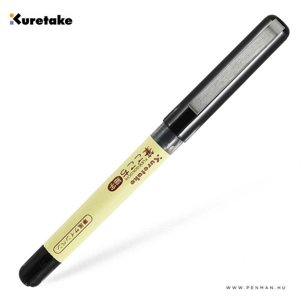 kuretake fudegokochi ecsetfilc fekete fine 001