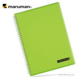 maruman septcouleur A4 N570 lined green 80lap penman
