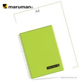 maruman septcouleur A5 N572 lined green 80lap penman