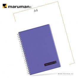 maruman septcouleur A5 N572 purple 80lap penman