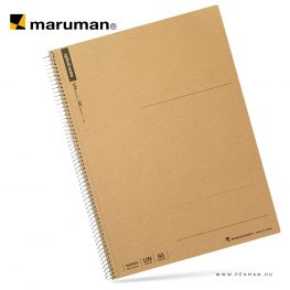 maruman spiral note A4 empty 80lap penman