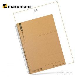 maruman spiral note B5 empty 80lap penman