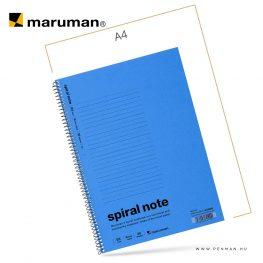 maruman spiral note B5 lined blue 30lap penman