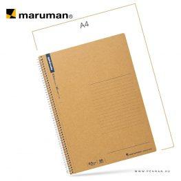 maruman spiral note B5 ruled 80lap penman