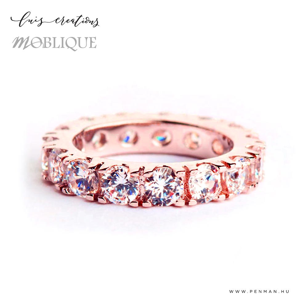 moblique moring eternity rose gold 1001