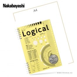 nakabayashi logical A5 yellow penman