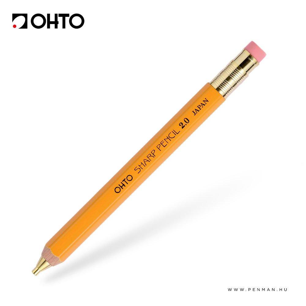 ohto 2mm mechanikus ceruza sarga 1001