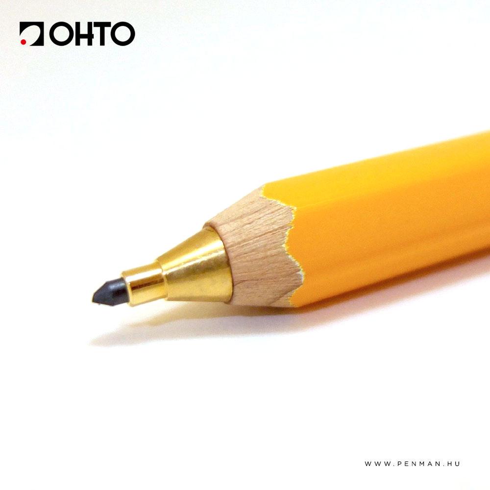 ohto 2mm mechanikus ceruza sarga 1002