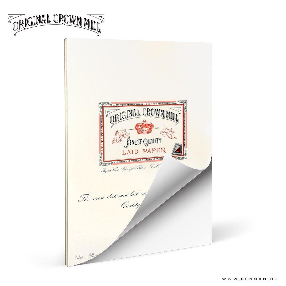 original crown mill A4 laid paper lap penman