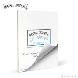 original crown mill A4 vellum paper lap penman